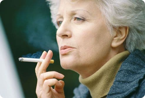 Фактор риска инсульта - нездоровый образ жизни